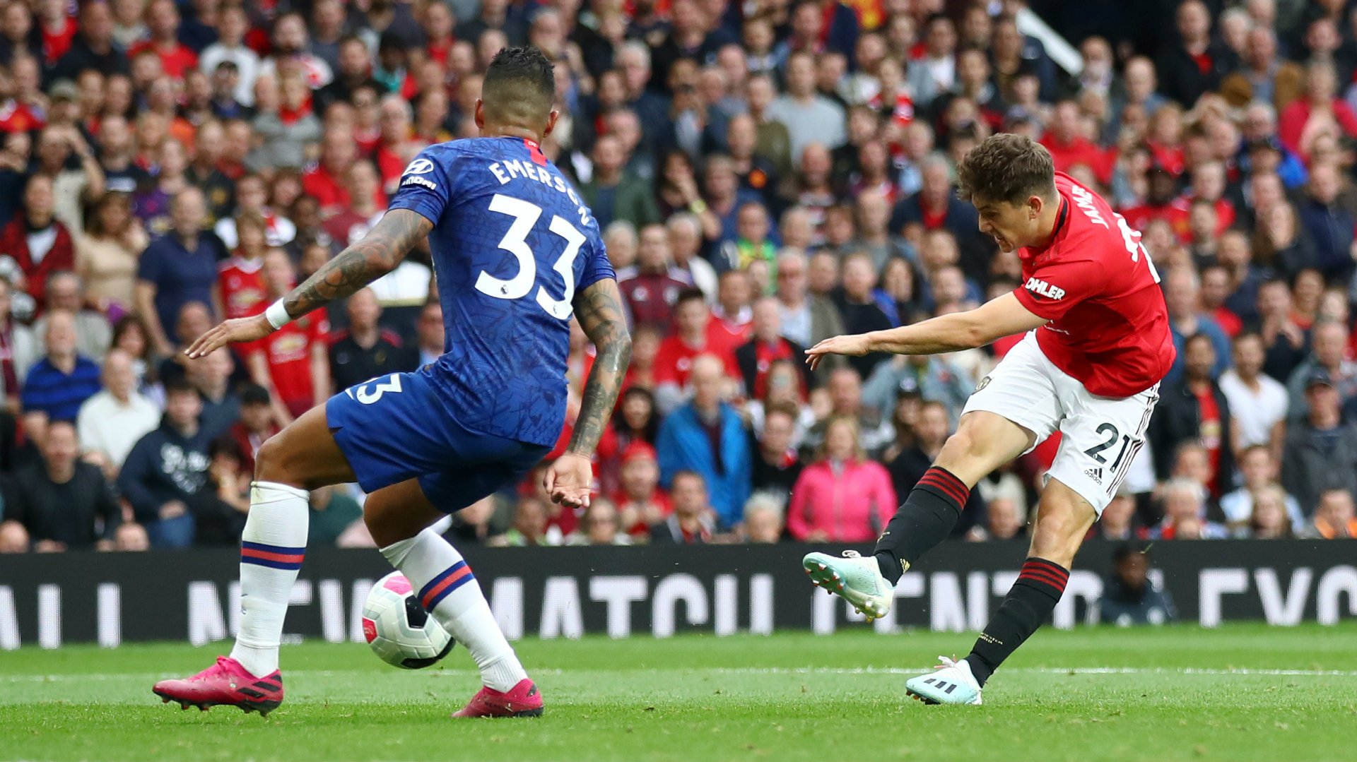 Daniel James Manchester United vs Chelsea 2019-20