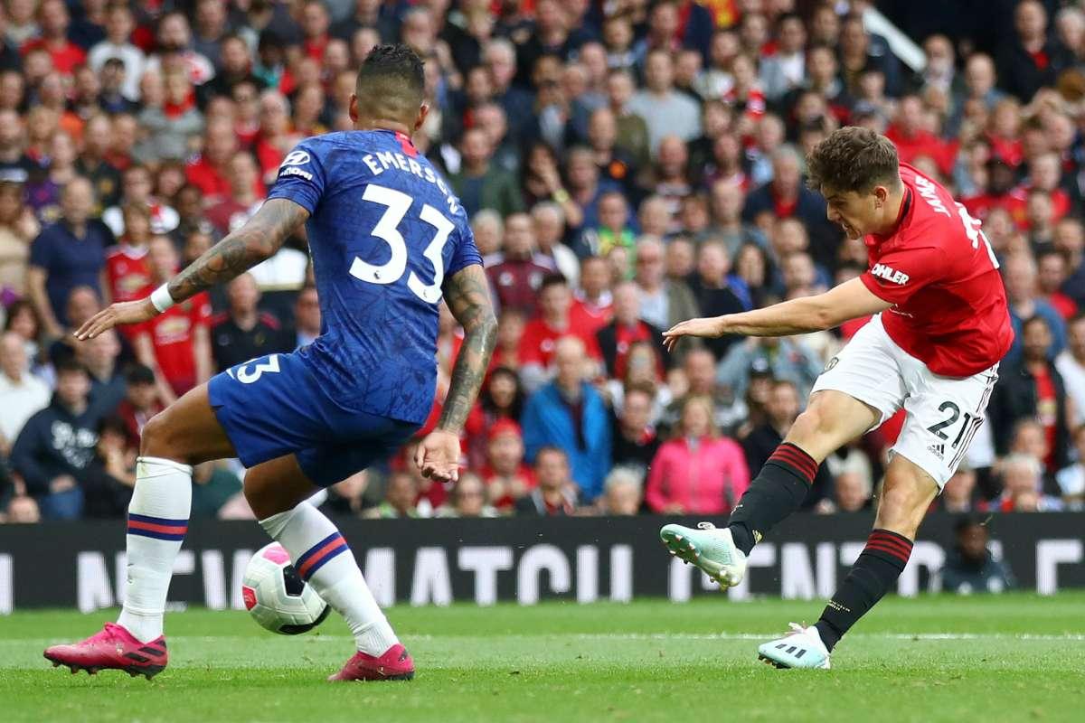 Daniel James Manchester United vs Chelsea 2019-20