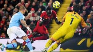 Sadio Mane scores vs Man City