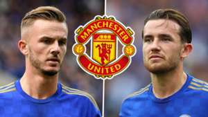 James Maddison Ben Chilwell Leicester Man Utd