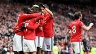 Alexis celebrating v Swansea