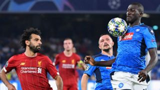Kalidou Koulibaly, Mohamed Salah - Napoli vs Liverpool