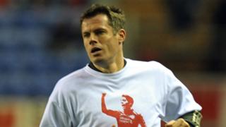 Carragher Suarez shirt Liverpool