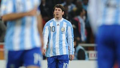 Lionel Messi 2010 World Cup