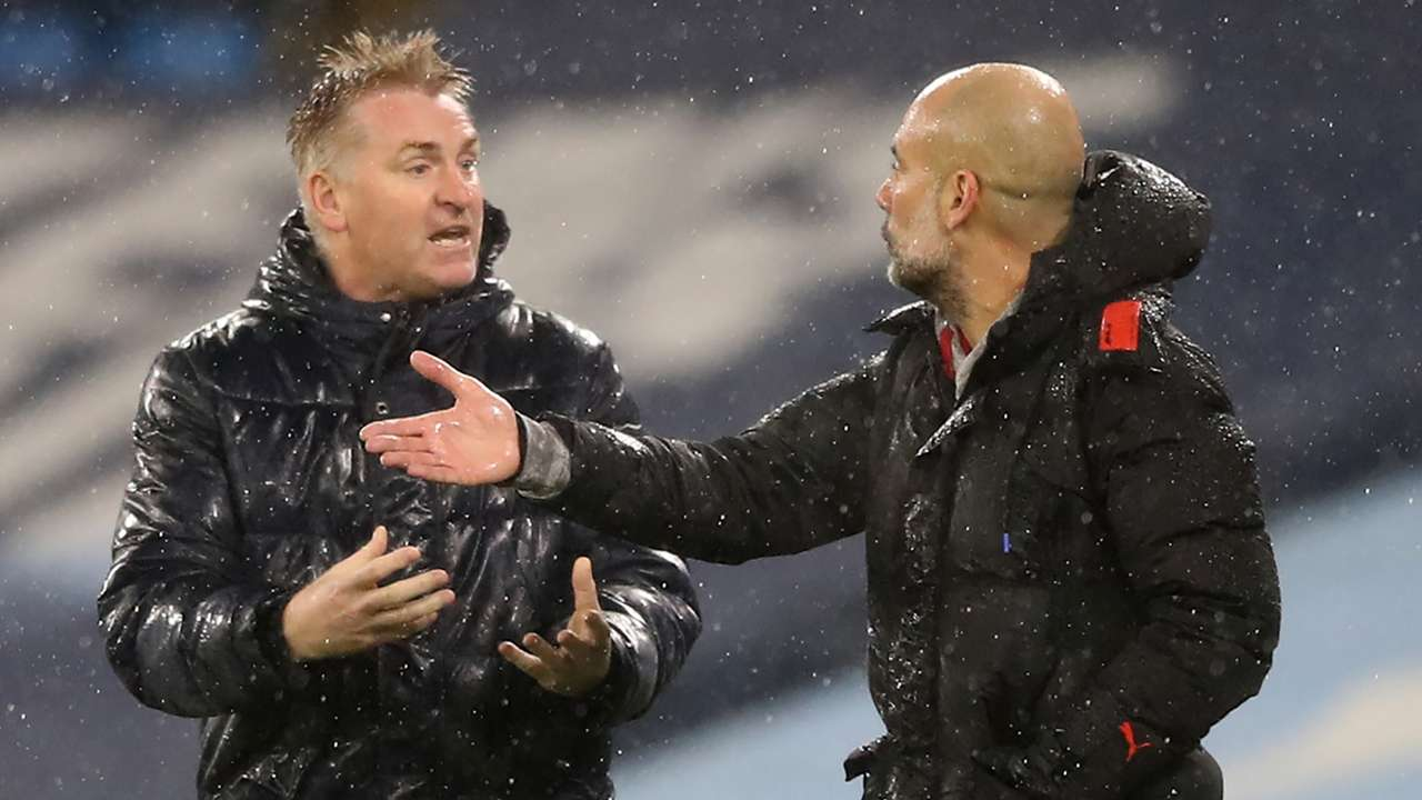 Dean Smith, Pep Guardiola