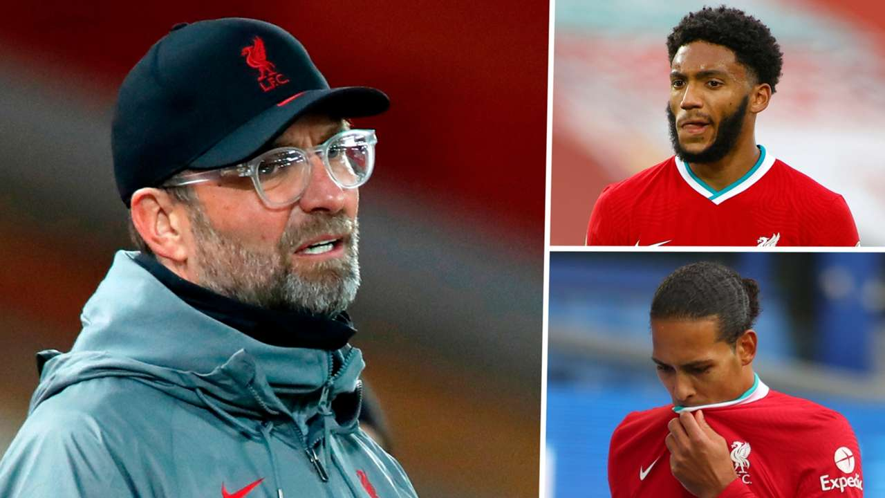 Klopp Gomez Van Dijk Liverpool GFX