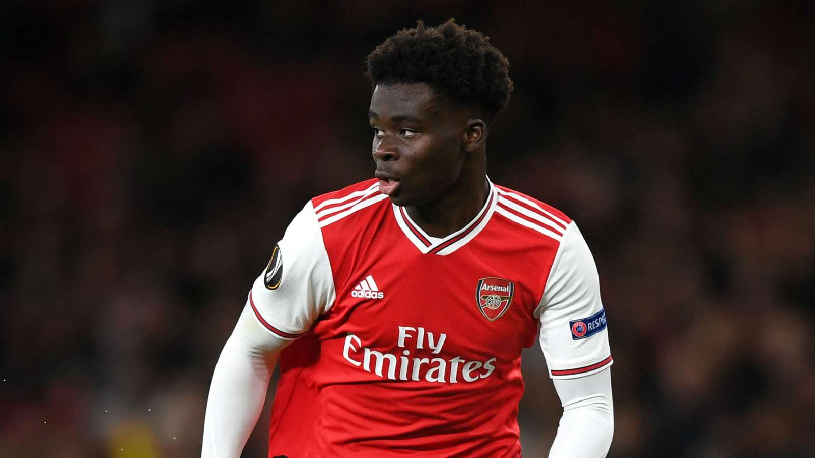 Bukayo Saka Arsenal 2019-20