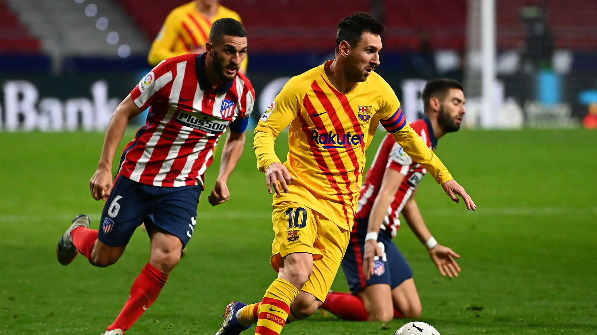 Koke explains how he'd try to convince Messi to sign for Atletico Madrid