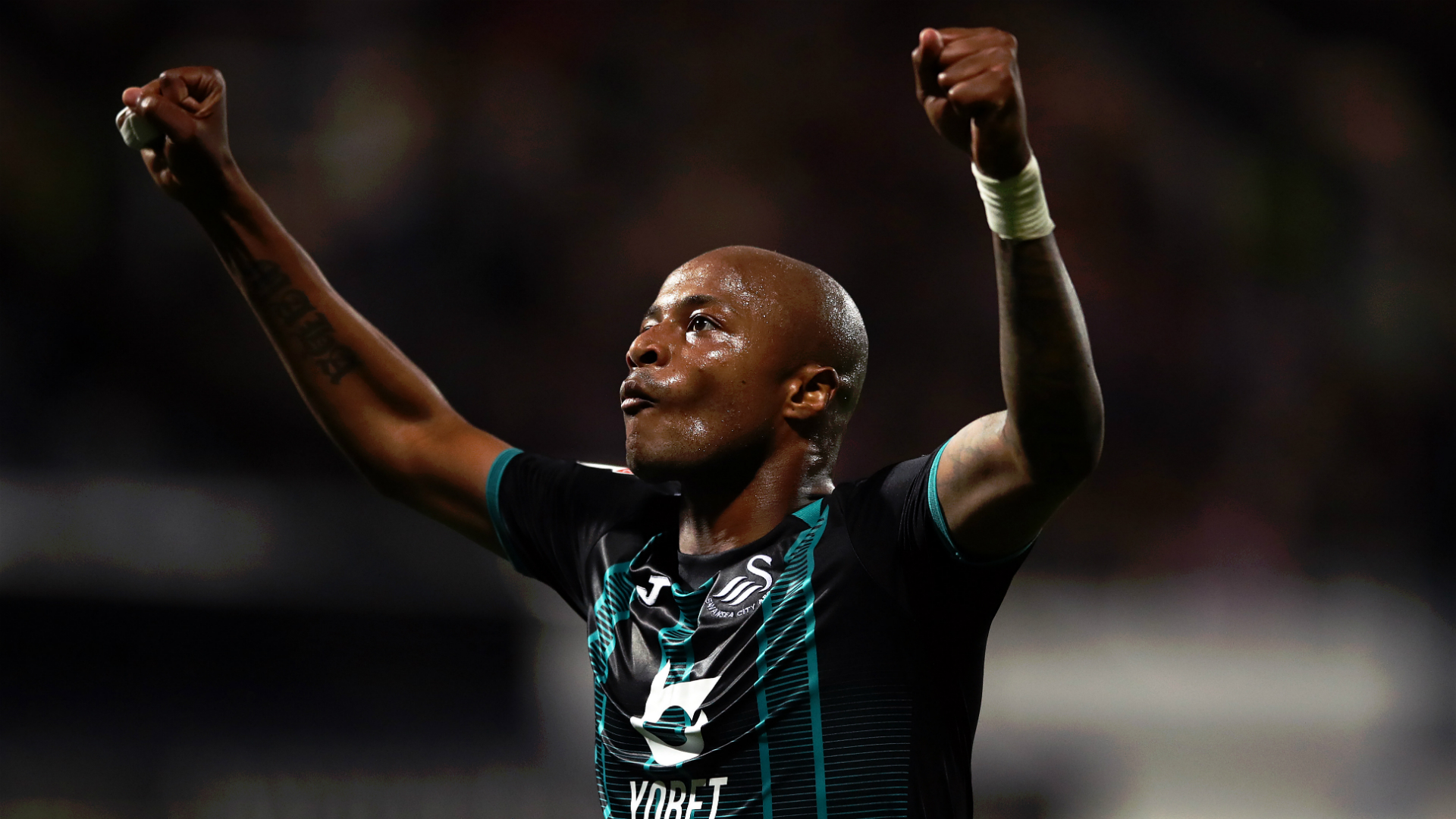 Andre Ayew scores and assists, Adeniran debuts as Swansea City beat Wycombe Wanderers