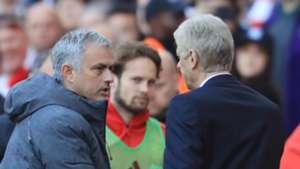 Jose Mourinho Arsene Wenger Arsenal Manchester United