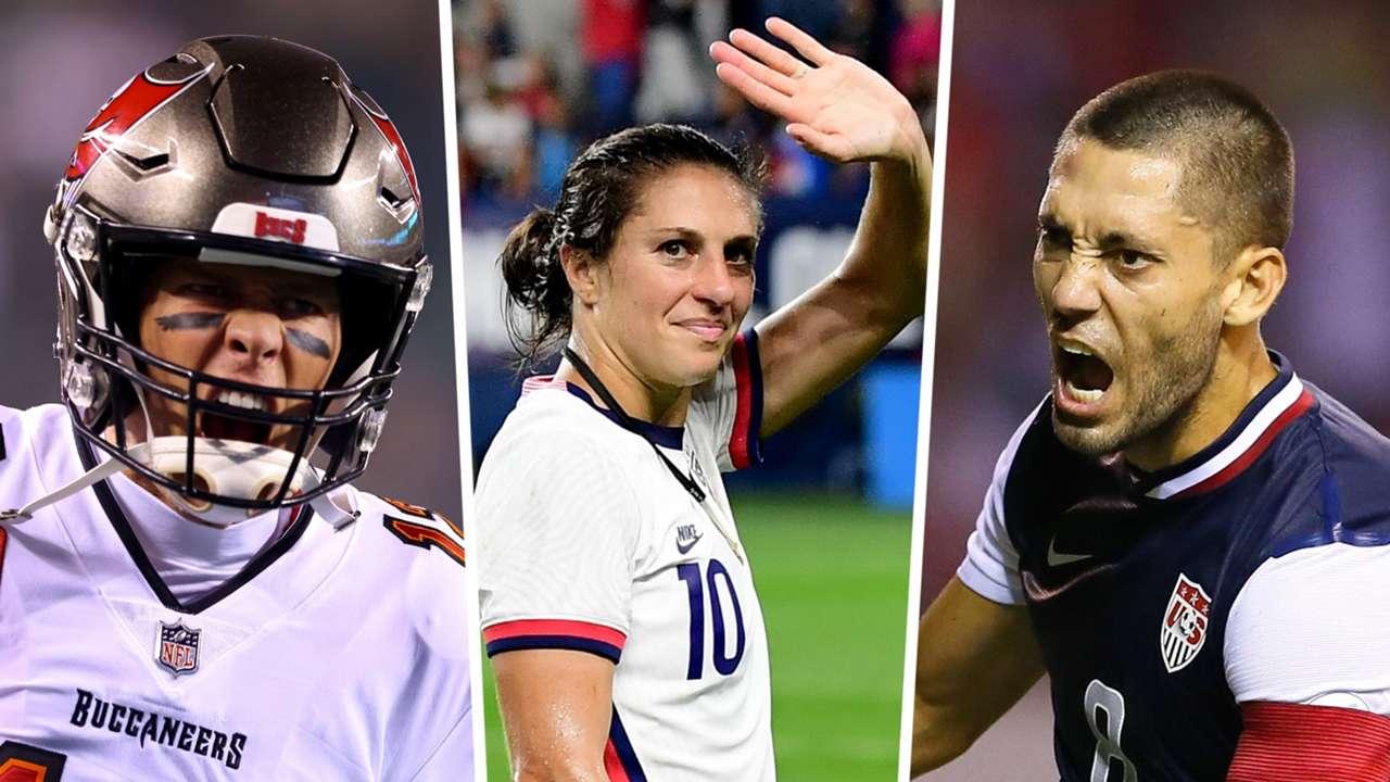 Tom Brady, Carli Lloyd, Clint Dempsey
