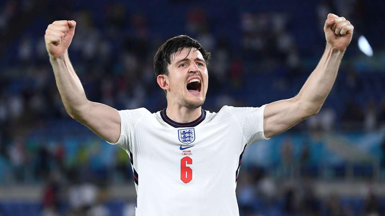 Harry Maguire Ukraine vs England Euro 2020