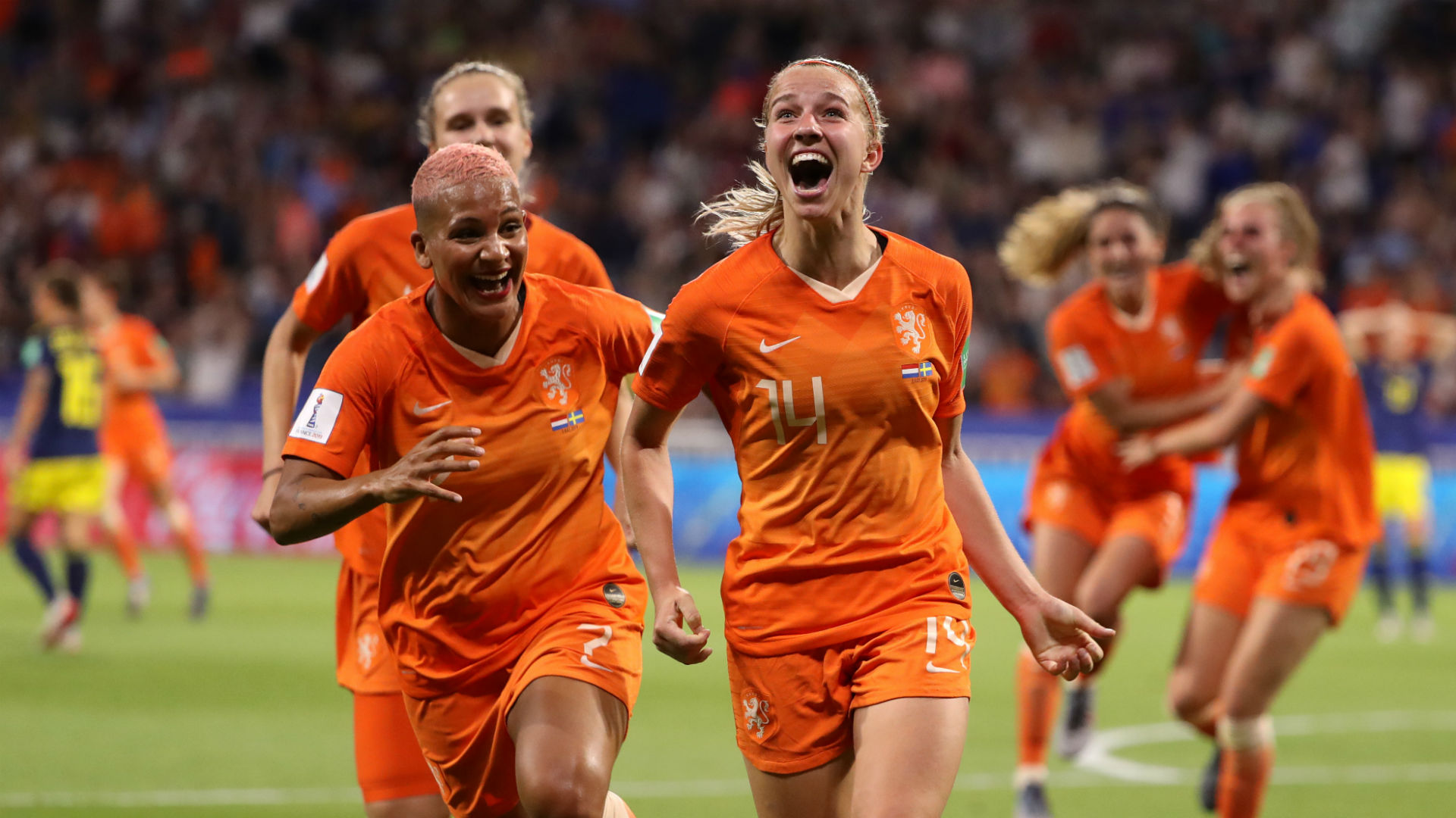 Jackie Groenen Netherlands Sweden Women's World Cup 2019