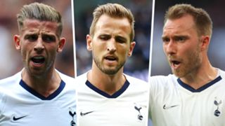 Toby Alderweireld Harry Kane Christian Eriksen