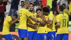 Philippe Coutinho Brazil Celebrating 2019
