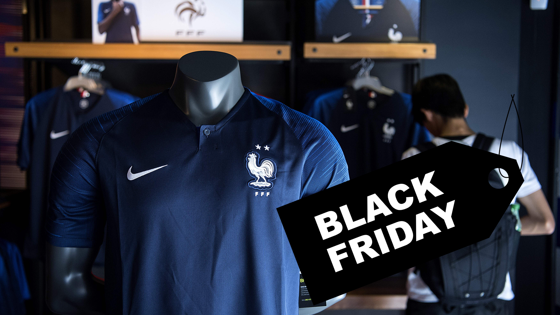 Black Friday Best deals and discounts for soccer jerseys