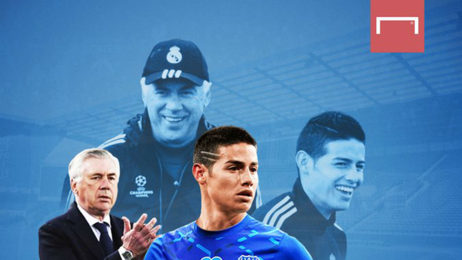 James Rodriguez riparte dall'Everton di Ancelotti