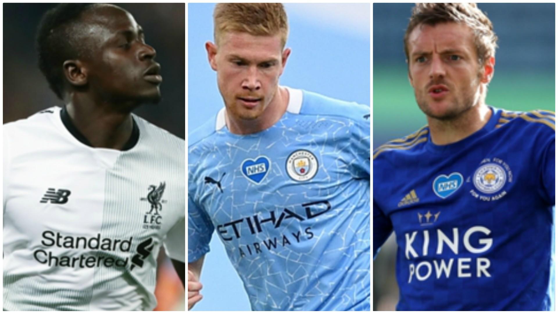 Premier League:Voici les 7 joueurs nominés pour le titre de Meilleur joueur