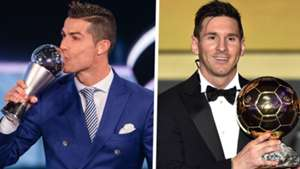 Cristiano Ronaldo FIFA The Best Lionel Messi Ballon dOr