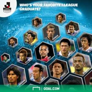 J League Japanese legends
