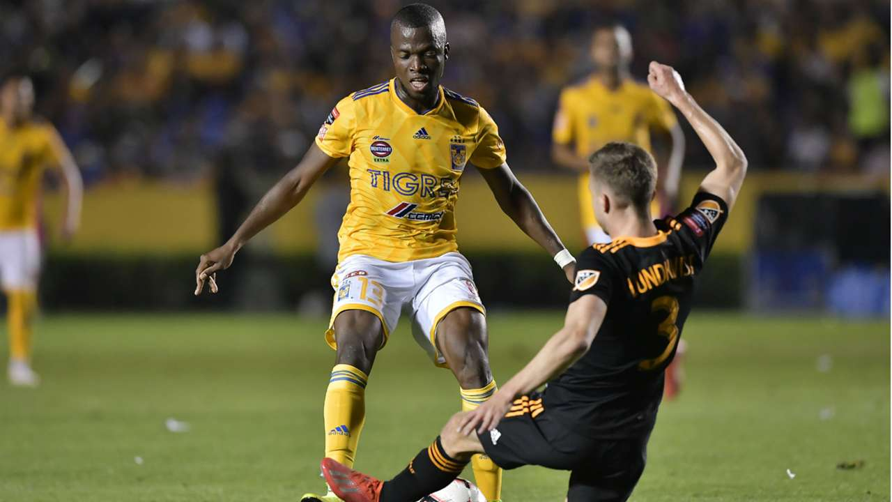 Enner Valencia Adam Lundkvist Tigres Houston Dynamo Concacaf Champions League 2019