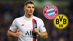 Thomas Meunier PSG Bayern Munich Borussia Dortmund