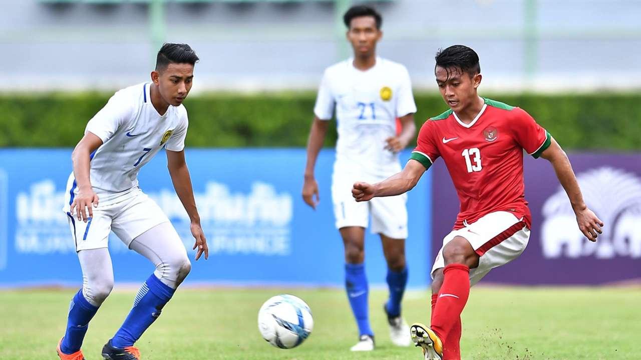 Kualifikasi Piala Asia U-23 2018: Febri Hariyadi & Muhammad Amirul Hisyam   Indonesia v Malaysia