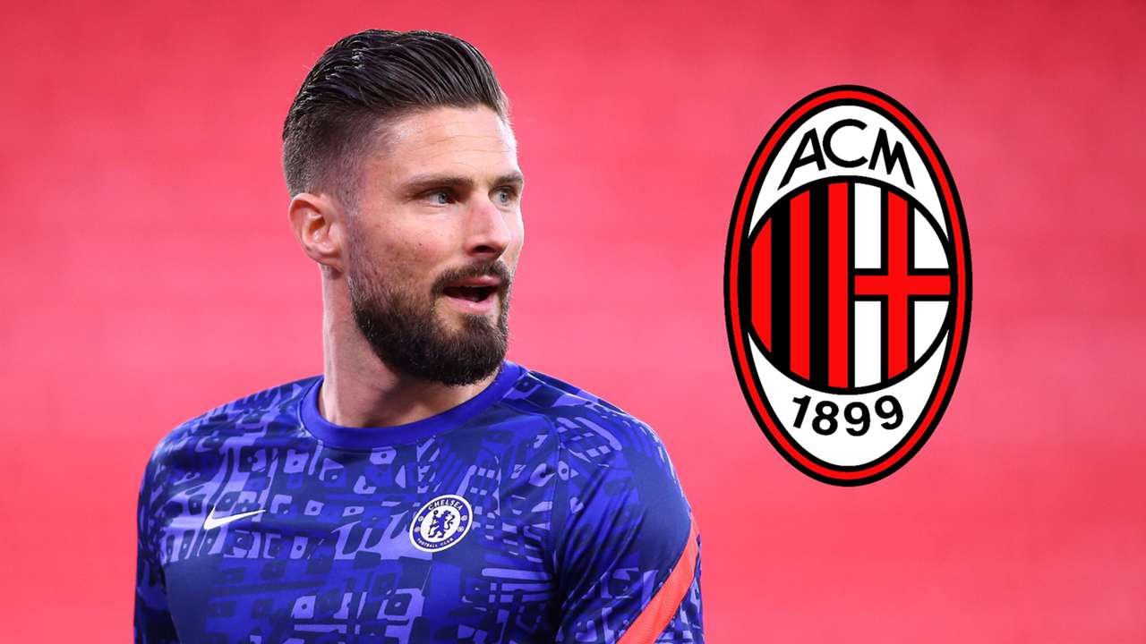 Olivier Giroud, AC Milan badge