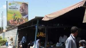 Musalia Mudavadi billboard, Nairobi