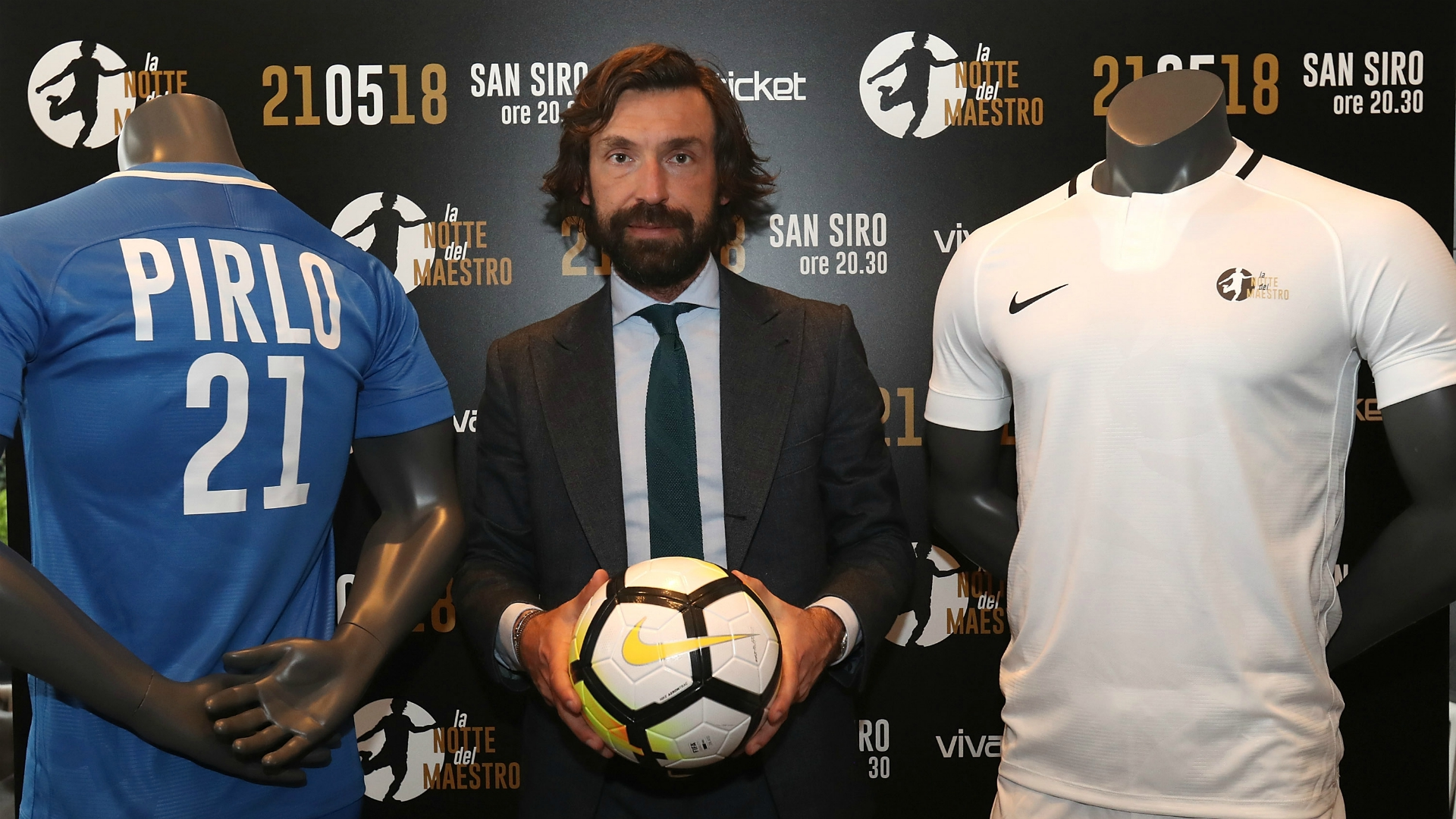 Pirlo is one of the most profound connoisseurs of football in the world – AIC president