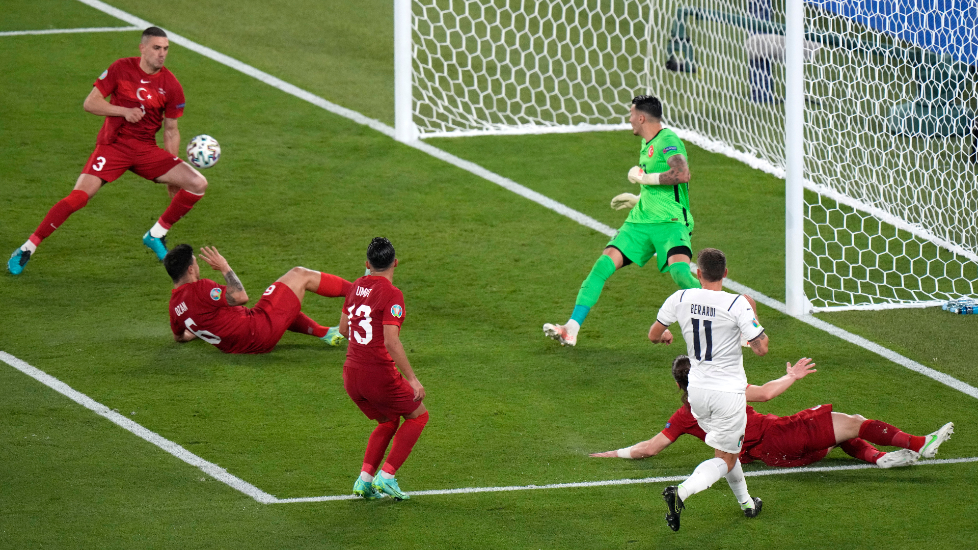 'Juve's in his blood!' – Turkish defender Demiral nets historic own goal to open Euro 2020 against Italy
