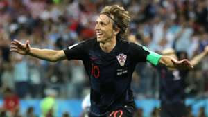 Luka Modric Croatia Argentina World Cup 2018