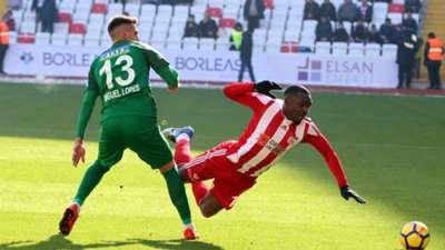 Thievy Bifouma Miguel Lopes Sivasspor Akhisarspor 01212018