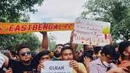 East Bengal fan protest