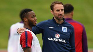 Raheem Sterling Gareth Southgate England
