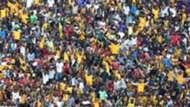 Kaizer Chiefs and Orlando Pirates fans