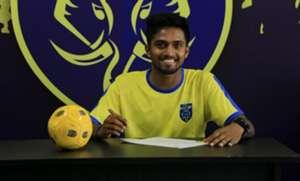 Arjun Jayaraj Kerala Blasters