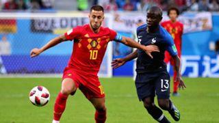 Eden Hazard, N'Golo Kante