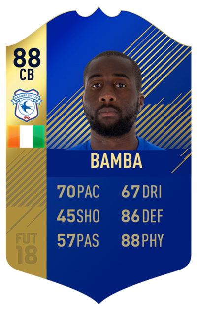 FIFA 18 EFL Team of the Season Bamba