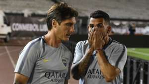 Guillermo Barros Schelotto Carlos Tevez Boca Juniors Copa Libertadores 24112018