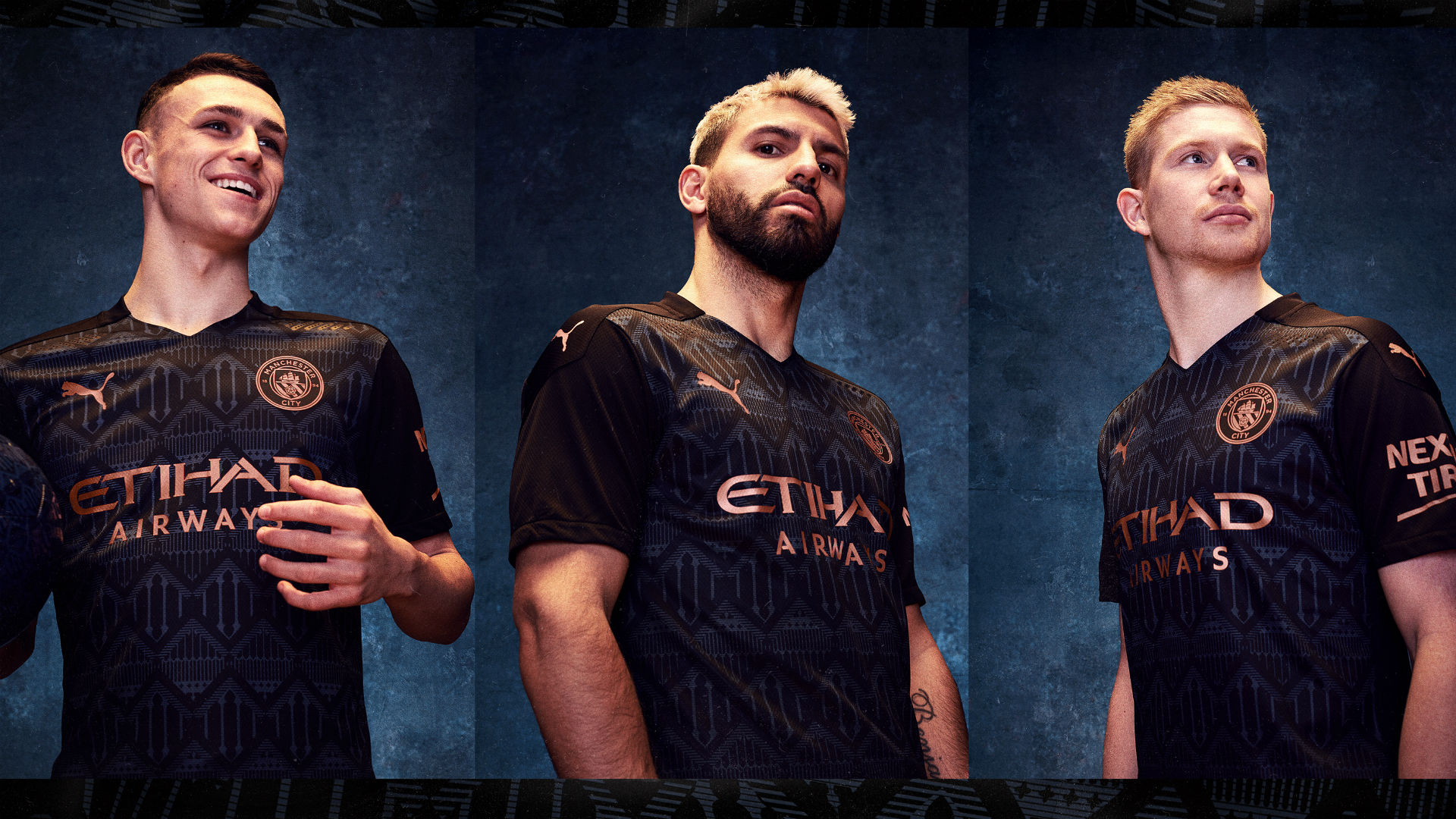 Manchester City 2020-21 kit: New home and away jersey styles and ...