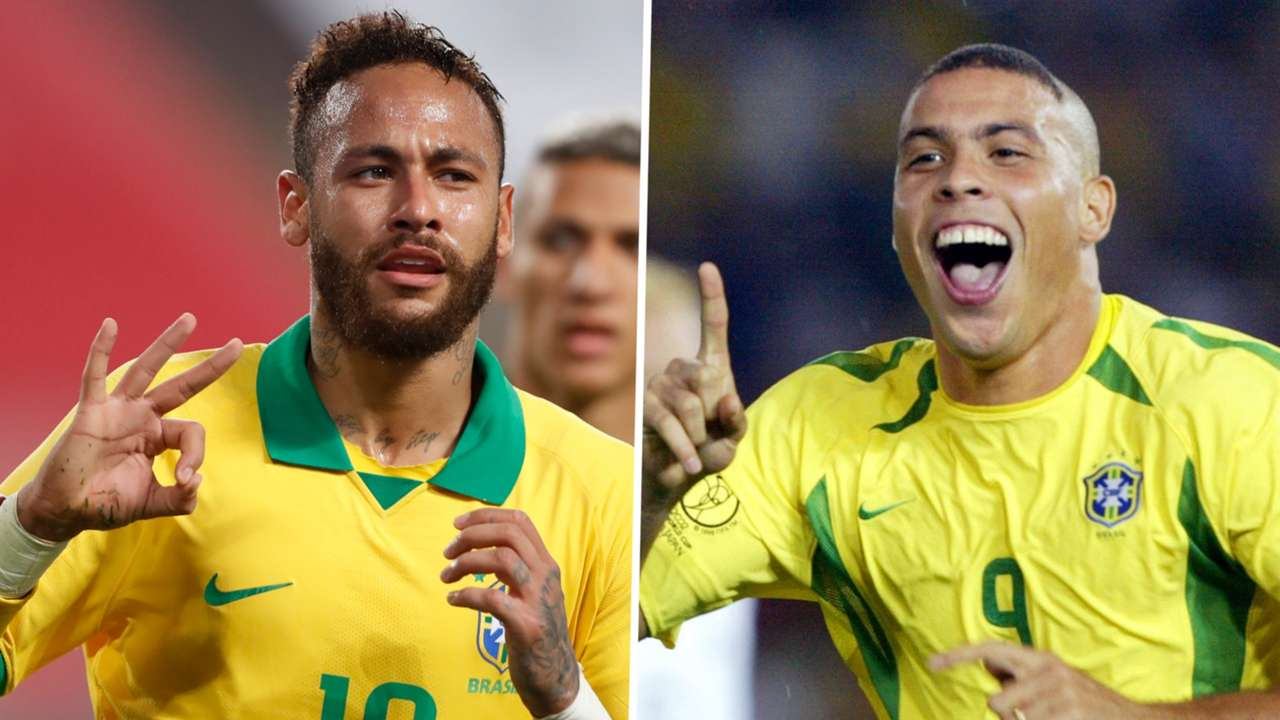 Neymar Ronaldo Brazil GFX