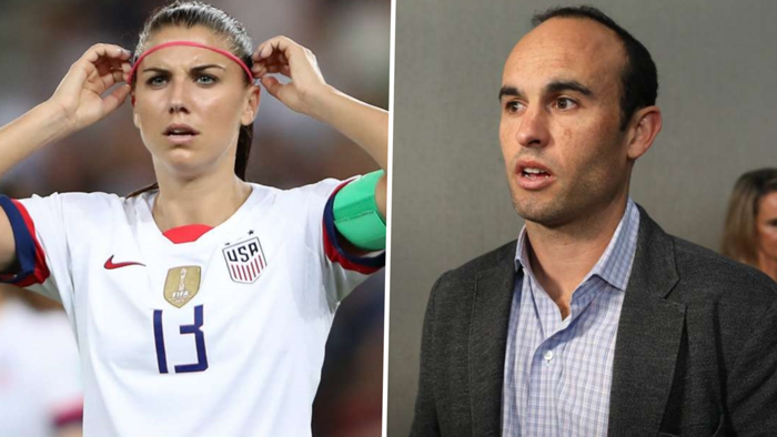 Alex Morgan Landon Donovan GFX
