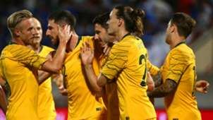 Socceroos Australia Kuwait Leckie 2019-20