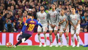 Lionel Messi Liverpool Barca 2018-19