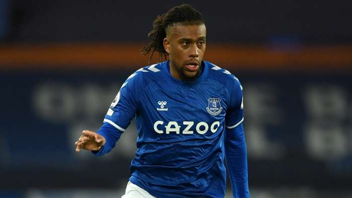 Alex Iwobi of Everton