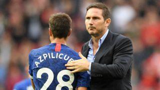 Cesar Azpilicueta Frank Lampard Chelsea 2019-20