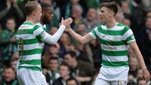 Leigh Griffiths Kieran Tierney Celtic