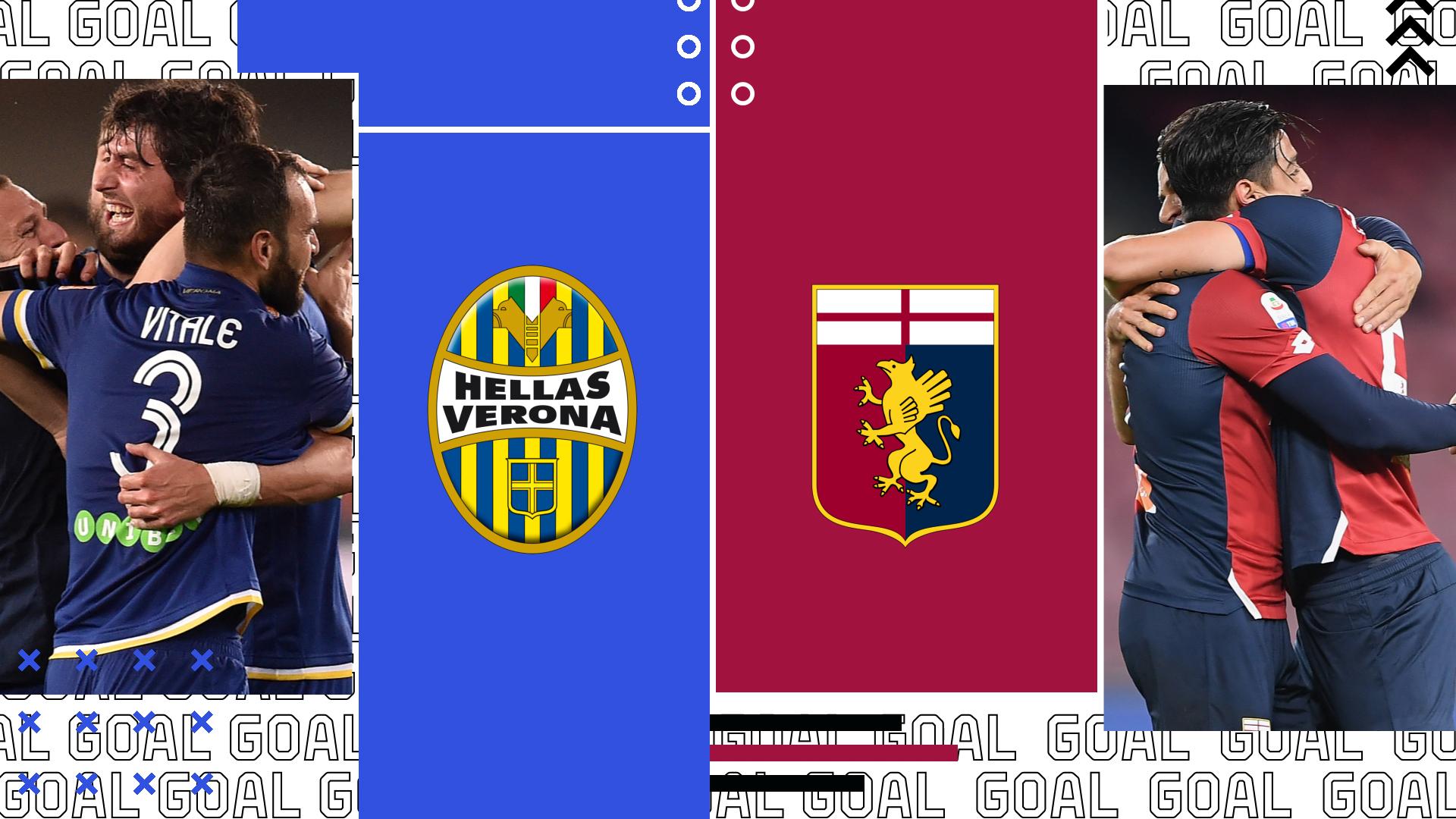 Verona-Genoa inizia in ritardo di 15': righe del campo storte al Bentegodi