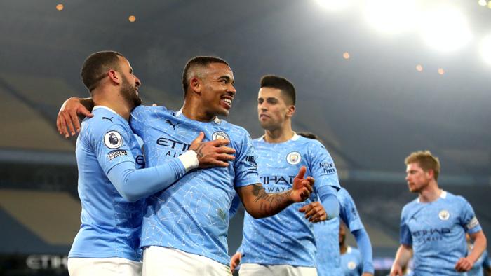 Gabriel Jesus Manchester City Wolves 2020-21